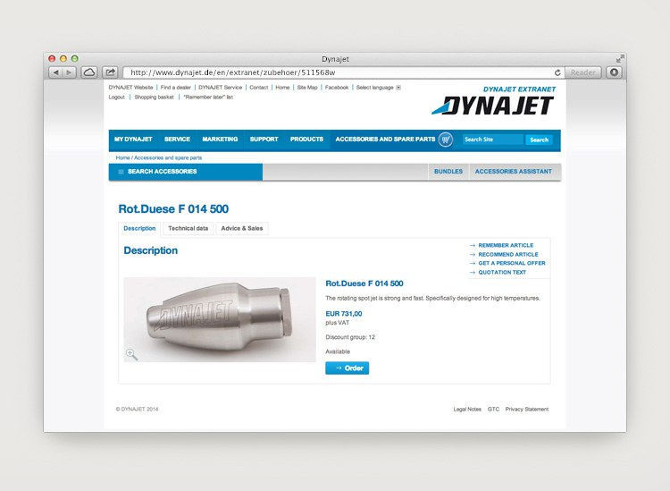Dynajet Website Zubehoer