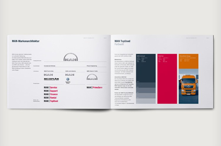 MAN TopUsed Corporate Design Guidelines