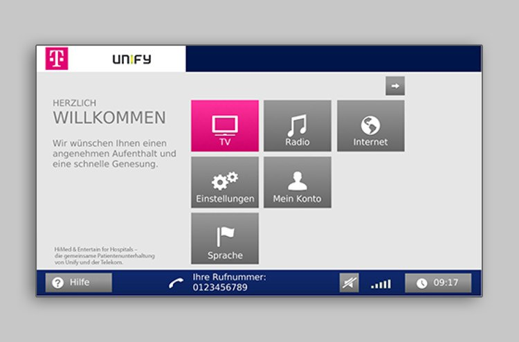 Unify T-Online Application